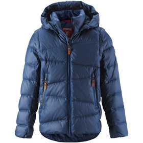 Reima Martti Down Jacket Boys Jeans Blue